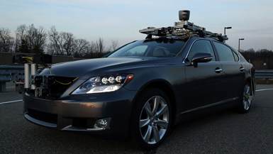 The Lexus advanced active safety research vehicle is equipped with an array of sensors and automated control systems to observe, process and respond to the vehicle's surroundings. These include GPS, stereo cameras, radar and Light Detection and Ranging (LIDAR) laser tracking.