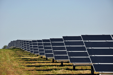 The 159,200 solar panels positioned on 83 acres adjacent to the Wyandot County Airport emit enough electricity, when the sun shines, to power over 9,000 homes.